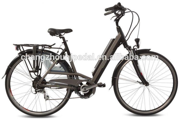 Gizli pil elektrikli bisiklet 36v/10ah li-ion pil içinde çerçeve( hj- 14c18)