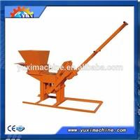 No automatic and manual method Interlock brick making machine