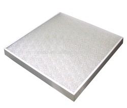 CE/Rohs panel led light 600x600 LED flat Panel 45W 595x595 White & Silver frame