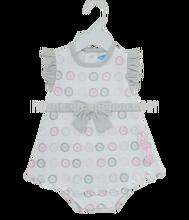 2015 NEW DESIGN GIRL BABY ROMPER /baby creeper