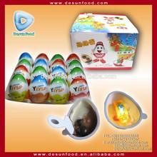 Kinder egg chocolate with novelty toy inside