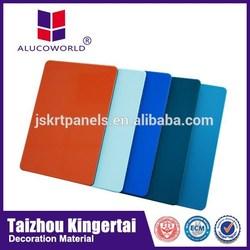 Alucoworld Offering Quality Plastic Aluminum Composite Panel color exterior paint