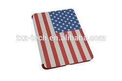 New Product for iPad mini / Air Flag Design Flip Cover for iPad