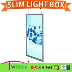 the popular Display Slim light box - LED snap frame