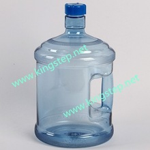3 gallon plastic water bottle with handel