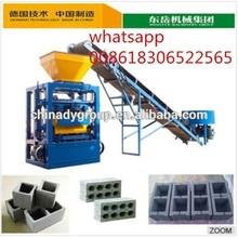 interlocking brick machine QTJ4-24 nigeria manual cement block making machine