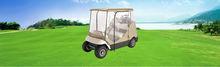 2 Passengers Golf Cart Storage Cover Fit EZ Go, Club Car, W Zipper