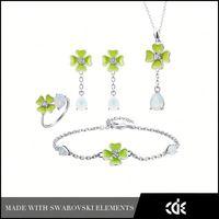 Women's fashion Jewel Set Earring Set Jewelry Set