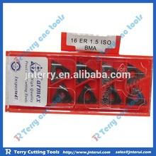 Carmex original cutting precision hot sale carbide insert 16 ER 1.5 ISO BMA, cnc indexable inserts, cutting insert