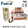 Miglior servizio 110v/220v 2015 Calcutta sculture in legno router di cnc fastcut- 1212