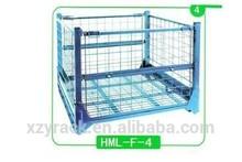 storage stacking metal container,warehouse storage equipment, box pallet