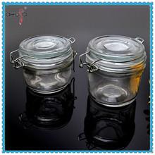 Clip top glass jars small glass jar for jam