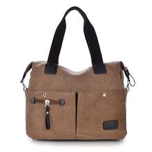 2015 summer designer durable vintage canvas tote handbag for women made in China