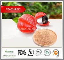 100% Natural Guarana extract 10% 20% Caffeine, Bulk Guarana seed extract powder, Paullinia cupana P.E. powdered Guarana