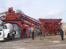 YHZS75 hot sale mobile concrete batching plant for concrete blocks making machine