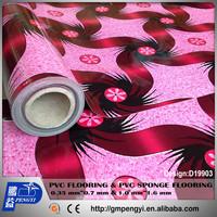 20ft container thickness 1.6mm width 1.83m PVC sponge FLOORING INDOOR