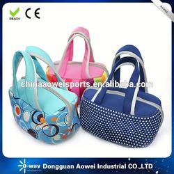 neoprene lunch bag with bottle holder china manufacturer
