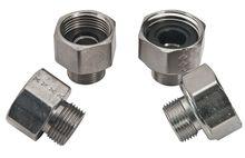 Faucet Adaptors, DST Faucets, Brass, Chrome- Shaanxi gaokai