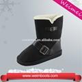 venta al por mayor de invierno cálido botas botón con botas de tacón alto para los niños