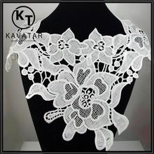 Rose cotton lace neck trim
