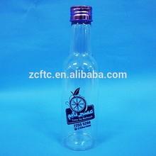น้ำผลไม้ขวดพลาสติก, ขวดเบียร์รูปร่างสำหรับบรรจุภัณฑ์น้ำผลไม้, 60ml, 150mlฯลฯ