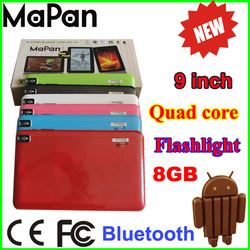 """9"""" tablets android 4.4 mapan bluetooth quad core tablet very cheap wholesale laptops"""