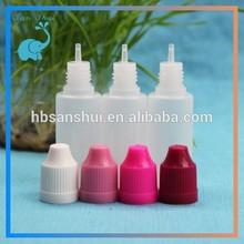 soft squeeze PE 20ml empty eliquid bottle for e-cigarette liquid