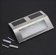 staircase barn door lights, ,solar staircase lamp with 2 LED, lamp staircase led