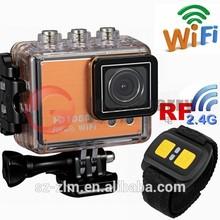 Hot selling Car DVR video camera,helmet sport Remote control camcorder