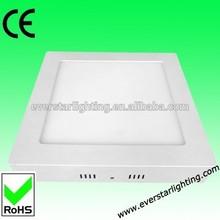 24W 1540lm CE RoHS Warmwhite Aluminium Cheap Solar LED panel Lamp