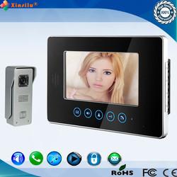 XSL-V70T-M3 7 INCH Screen Night vision video door phone for villa video intercom