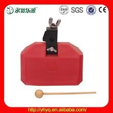 Percussion instrument Plastic Cowbell , Tone Block Plastic Cowbell