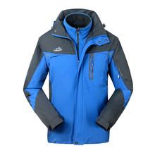 New arrival 3 in 1 winter outdoor jackets windbreaker ski wear