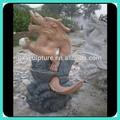jardin de pierre de marbre statue du dragon