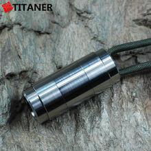 In Stock Long Service Life Ultralight CR123 Battery Case medicine dispenser travel pill case waterproof storage