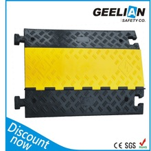3 channel cable protector rubber cable with factory price