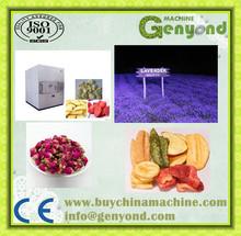 freeze dryer for food / freeze dried rose petals / lyophilized honey powder machine