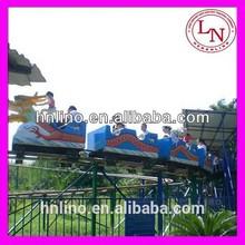 Dragon track train kids ride on roller coaster
