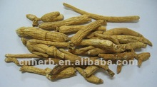 organic top grade white Ginseng Root no pesticide residue