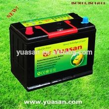 JIS Standard Maintenance Free 12V 50AH N50 Lead Acid MF 12V Car Battery -48D26R