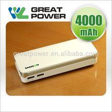 Fashion eco friendly 4000mah power bank car jump start