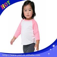 100% cotton baby kids t shirt