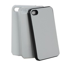 High quality 2D Sublimation PC Aluminum Phone Case cover for iphone 4 4s