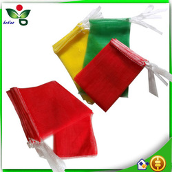 PE monofilament net bag for vegetables and fruits