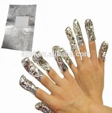 Nail gel remover wraps ,UV gel polish nail art remover cleaner,nail lacquer polish remover cotton