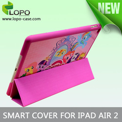 New Arrival sublimation smart cover for ipad air 2
