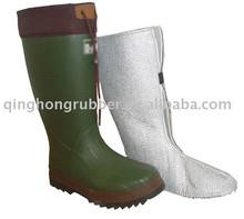 Rubber Winter Boot long rubber boots
