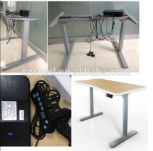 motorized table adjustable height standing desk