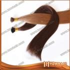 Good quality brazilian human remy virgin remi cuticle keratin hair bonding glue