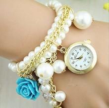 Women Crystal pearl Vogue Watch,China Wholesale Luxury Lady Watch WW65